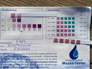 Wasserwerte in 3104 Windpassing