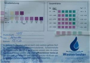 Wasserqualität in Altmünster, Oberösterreich