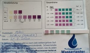 Wasserwerte in 1230 Wien
