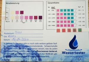 Wasserwerte in Krems