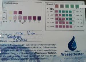 Wasserwerte in 1130 Wien