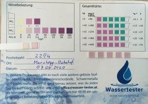 Wasserwerte in 2294 Marchegg