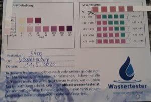 Wasserwerte in 3400 Klosterneuburg, Tauchnergasse