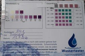 Wasserwerte in 3441 Diedersdorf
