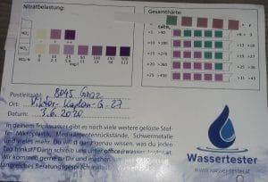 Wasserwerte in Graz
