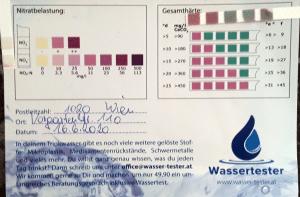 Wasserwerte in 1020 Wien