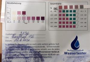 Wasserwerte in 2136 Hanfthal