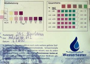 Wasserwerte in 2145 Hausbrunn