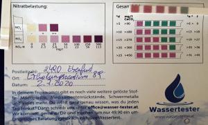 Wasserwerte in 2490 Ebenfurth