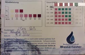 Wasserwerte in 2504 Soß