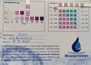 Wasserwerte in 2824 Seebenstein