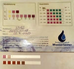 Wasserwerte in 3392 Gerolding