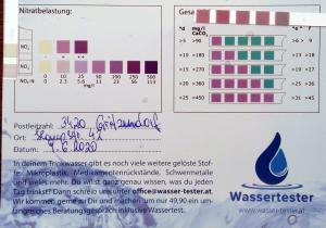Wasserwerte in 3420