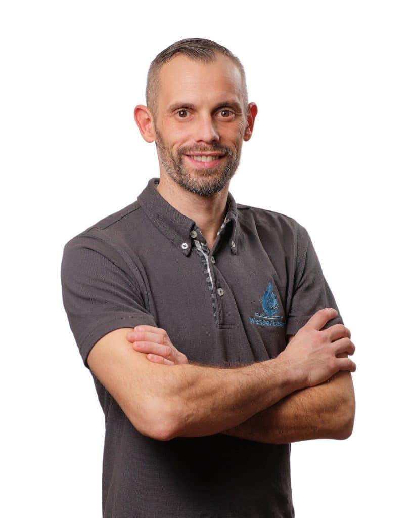 Wasserqualitätsmanager Christoph Spirek