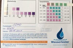 Wasserwerte in 1090 Wien
