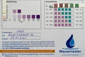 Wasserwerte in 1100 Wien