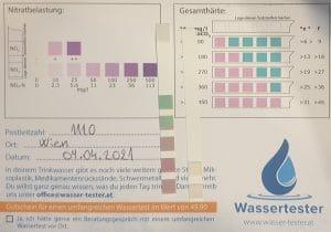 Wasserwerte in 1110 Wien