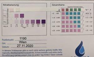 Wasserwerte in 1190 Wien