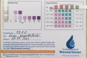 Wasserwerte in 1210 Wien