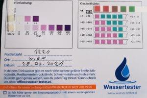 Wasserwerte in 1220 Wien