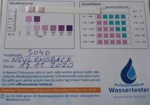 Wasserwerte in 3040 Neulengbach