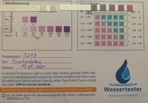 Wasserwerte in 3213 Frankenfels