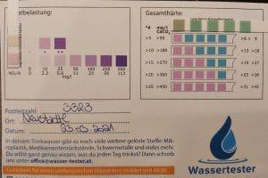 Wasserwerte in 3323 Neustadtl