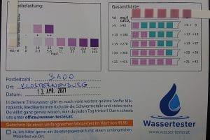 Wasserwerte in 3400 Klosterneuburg
