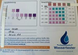 Wasserwerte in 4020 Linz