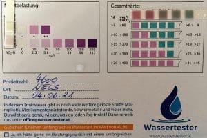 Wasserwerte in 4600 Welss