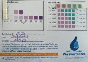 Wasserwerte in 5026 Salzburg