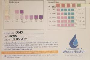 Wasserwerte in 6840 Götzis